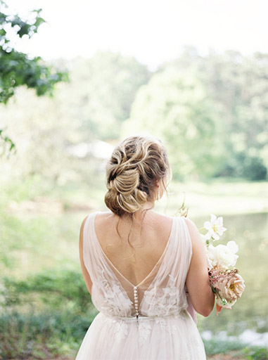 hair and makeup - engagement example